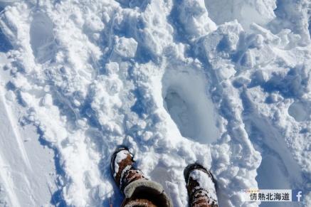 當日的雪深。