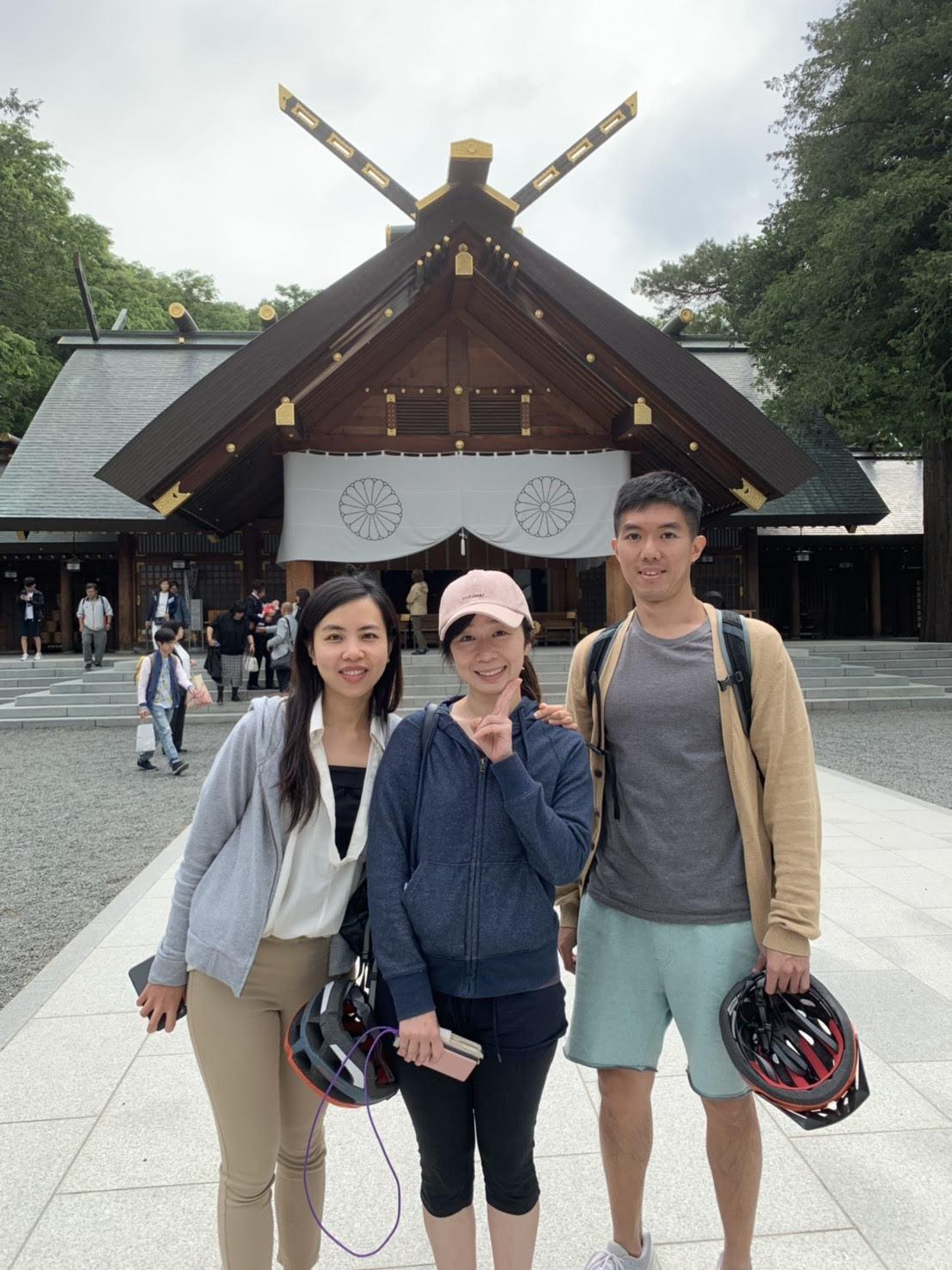 札幌單車遊-北海道神宮